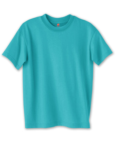 Hanes 5.2 oz Youth Comfortsoft Heavyweight 50/50 T-Shirt