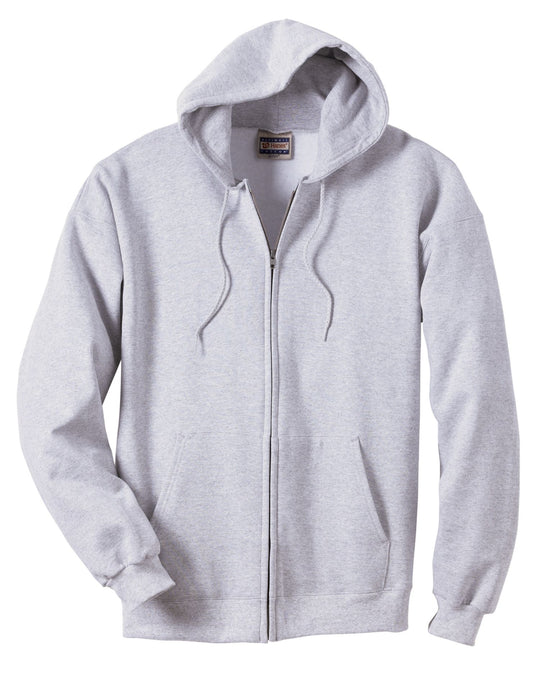 Hanes Ultimate Cotton Full-Zip Fleece Hood 10 oz