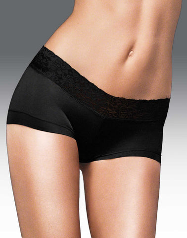 Maidenform Women`s Cotton Dream Boyshort with Lace