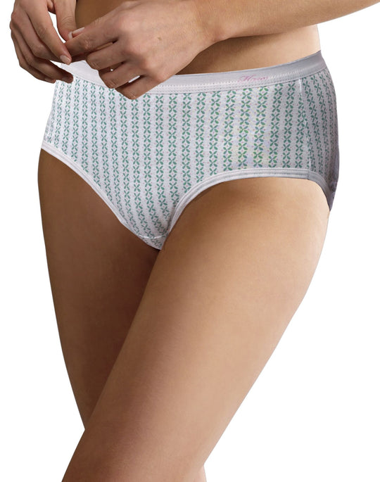 Hanes Women's No Ride Up Low Rise Cotton Briefs 6-Pack