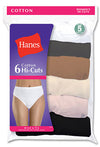 Hanes Cotton Hi-Cut Body Tones
