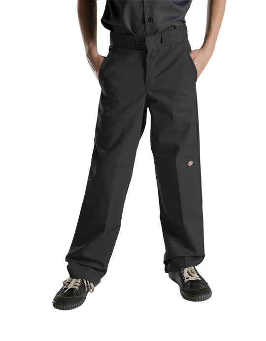 Dickies Boys FlexWaist Relaxed Fit Straight Leg Double Knee Pants, 8-20