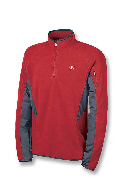 Champion Double Dry Micro-Tech Fleece Quarter-Zip Men's Jacket
