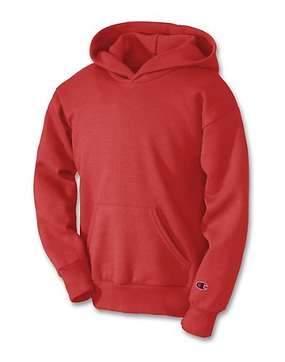Champion Double Dry Action Fleece Pullover Kids' Hoodie