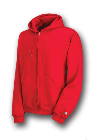 Champion Double Dry Eco Fleece Full Zip Hood
