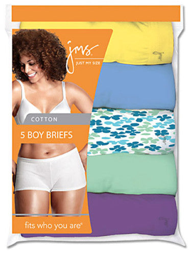 JMS Cotton Boy Briefs 5 Pack
