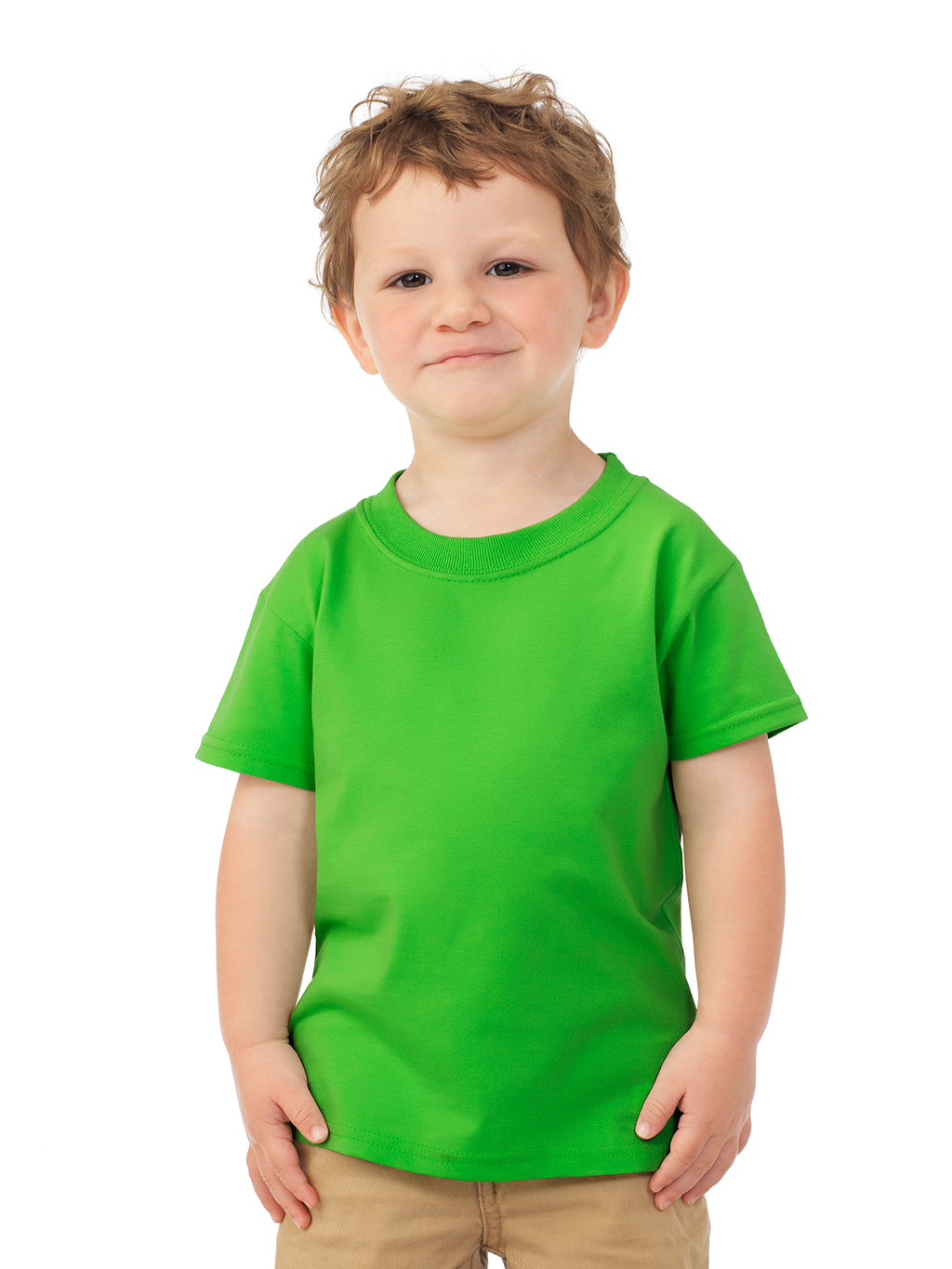 Fruit Of The Loom Toddlers HD Cotton Short Sleeve Crew T-Shirt