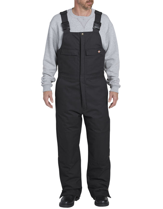 Dickies Mens FLEX Sanded Duck Insulated Bib Overalls
