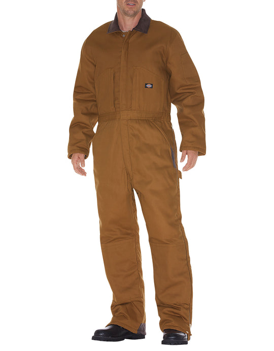 Dickies Mens Duck Insulated Coveralls