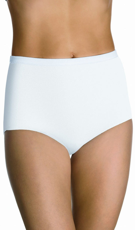 Bali Fit Your Curves 100% Cotton Brief 3-pack