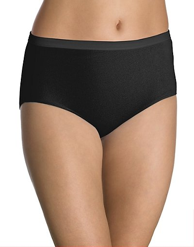 Bali Fit Your Curves 100% Cotton Low-Rise Brief 3-pack