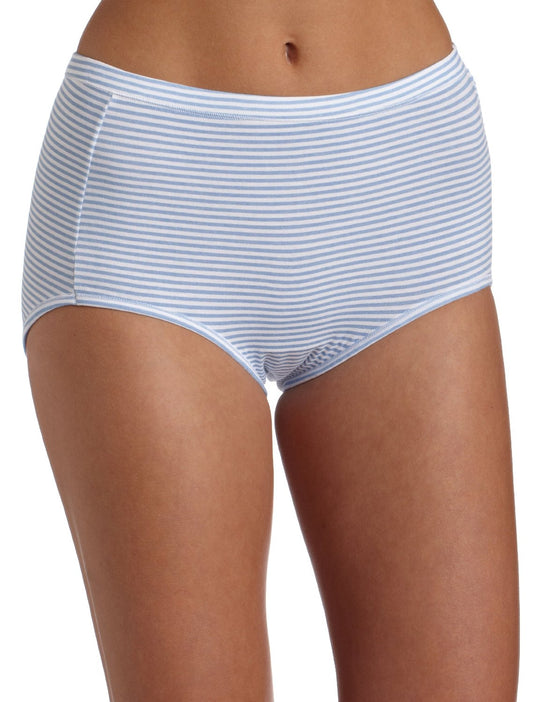 Bali Fit Your Curves Cotton Stretch Brief 3-pack