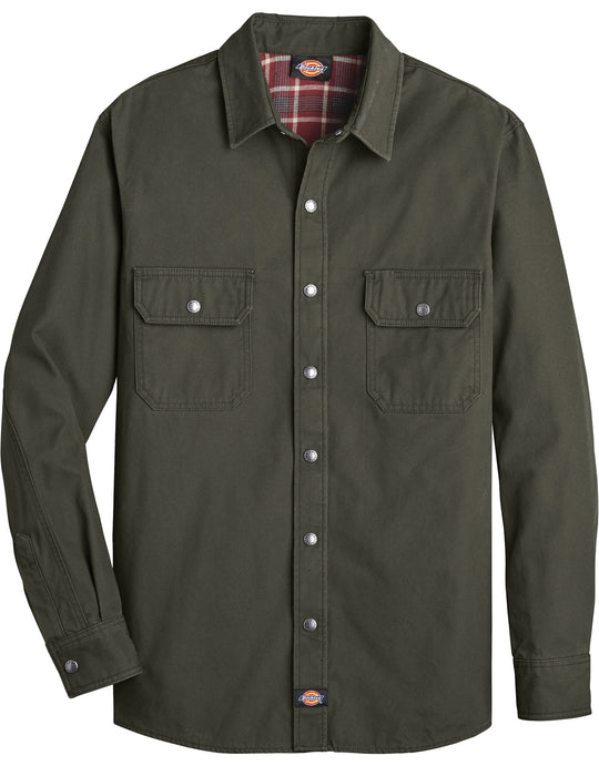 Dickies Mens Flannel Lined Shirt