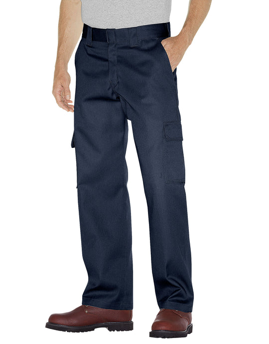 Dickies Mens Relaxed Fit Straight Leg Cargo Work Pants