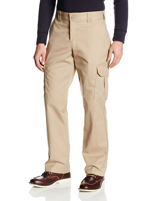 Dickies Mens FLEX Regular Straight Stretch Twill Cargo Pant