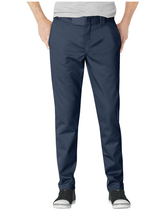 Dickies Mens Slim Fit Tapered Leg Ring Spun Work Pants