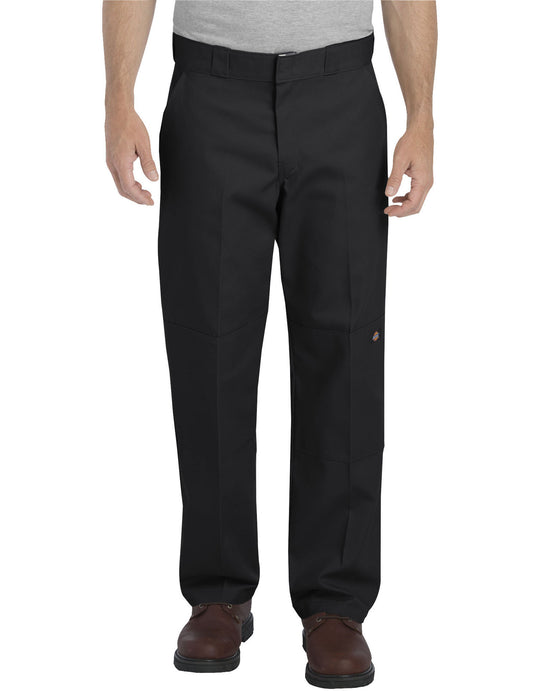 Dickies Mens Relaxed Fit Straight Leg Double Knee Pants