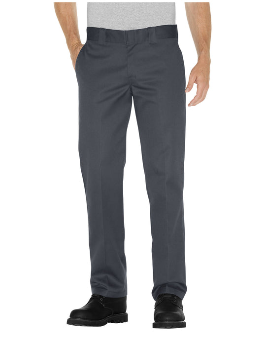 Dickies Mens Slim Fit Straight Leg Work Pants