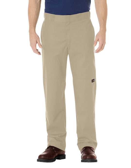 Dickies Mens FLEX Regular Fit Straight Leg Double Knee Work Pants