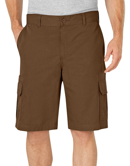 "Dickies Mens 11"" Relaxed Fit Lightweight Ripstop Cargo Shorts"
