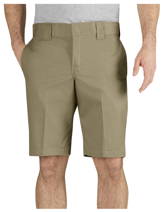 "Dickies Mens FLEX 11"" Slim Fit Work Shorts"