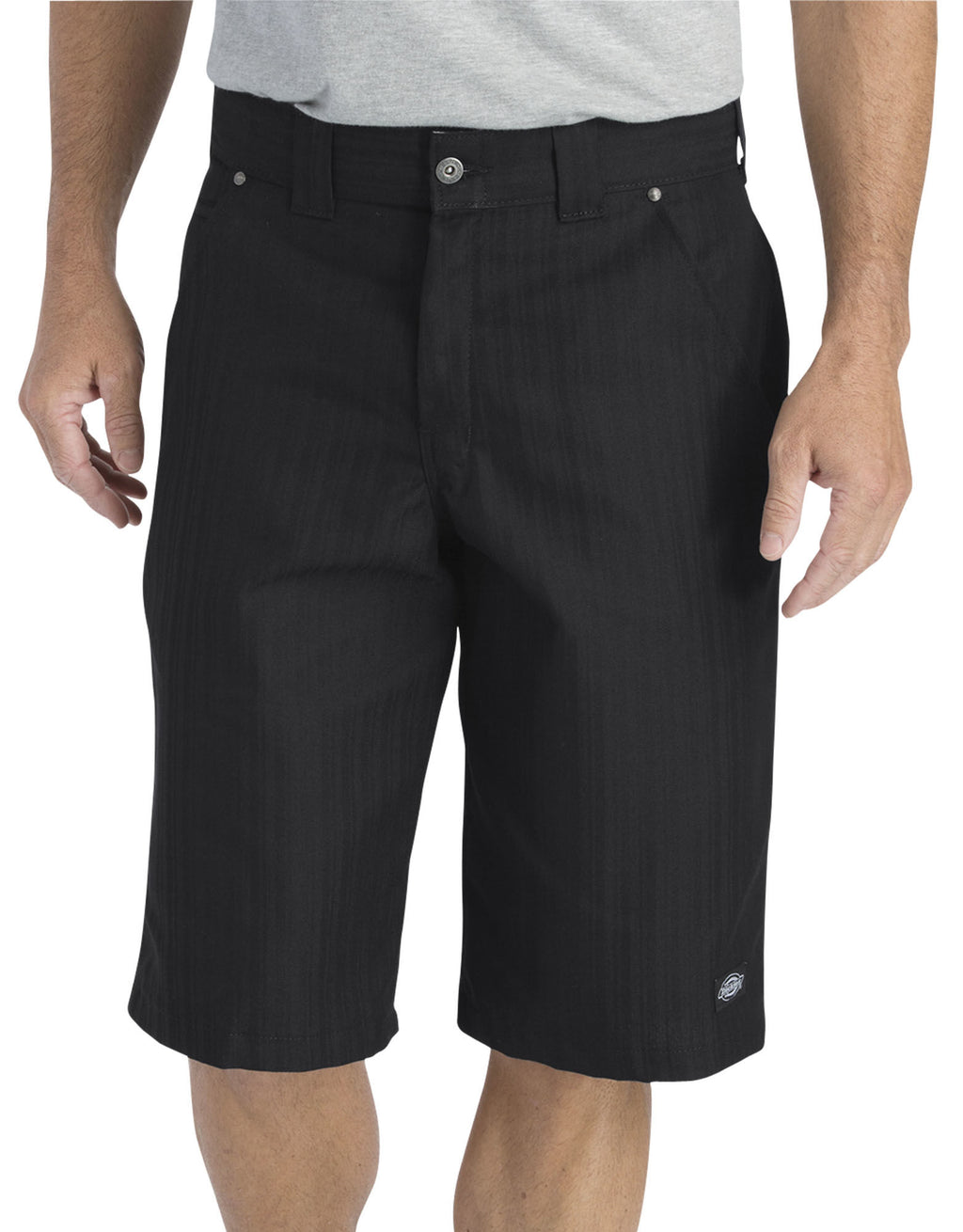 "Dickies Mens 13"" Regular Fit Shadow Stripe Shorts"