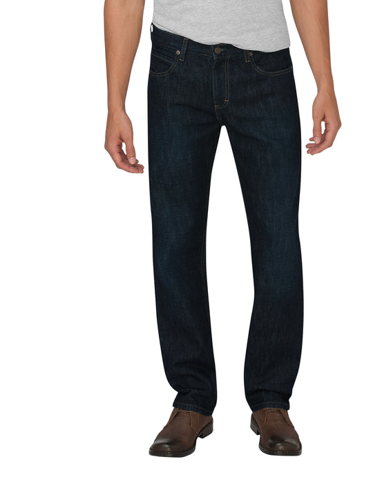 Dickies Mens X-Series Regular Fit Straight Leg 5-Pocket Denim Jeans