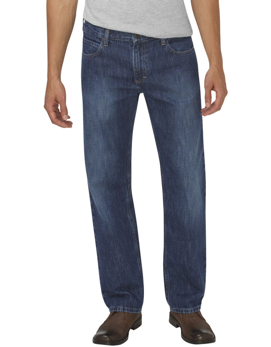 Dickies Mens X-Series Loose Fit Straight Leg 5-Pocket Denim Jeans
