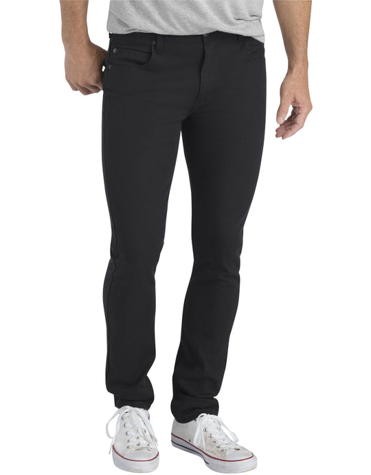 Dickies Mens X-Series Slim Fit Skinny Leg 5-Pocket Flex Pants