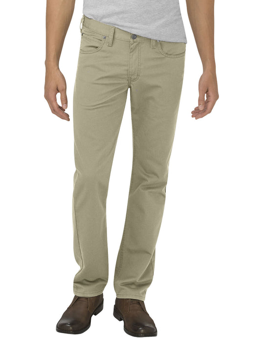 Dickies Mens X-Series Flex Slim Fit Tapered Leg 5-Pocket Pants