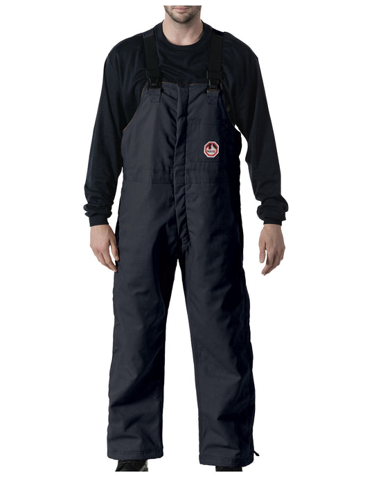 Walls Mens Flame Resistant Insulated Bib Overalls