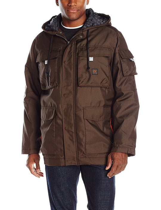 Walls Mens Modern Work Cut & Shoot Hooded Coat
