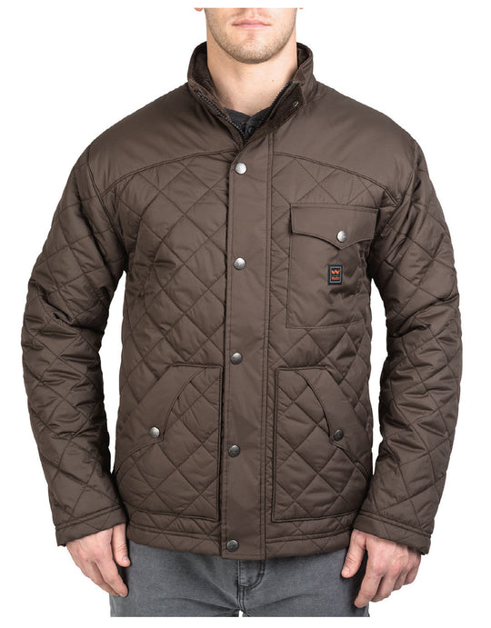 Walls Mens Ranch Brownwood Nylon Jacket