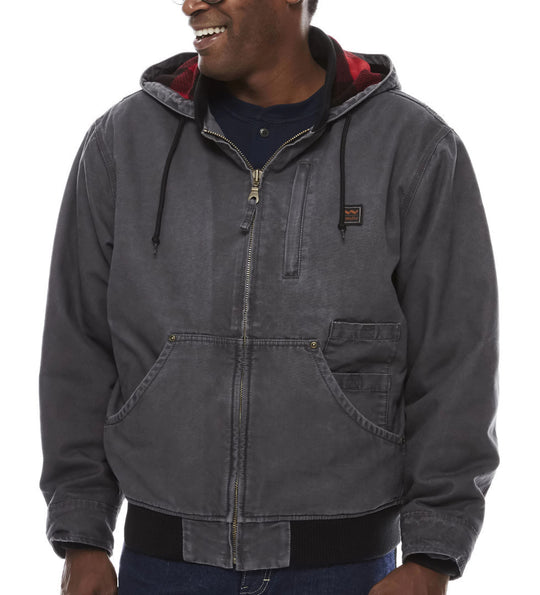 Walls Mens Vintage Duck Hooded Jacket