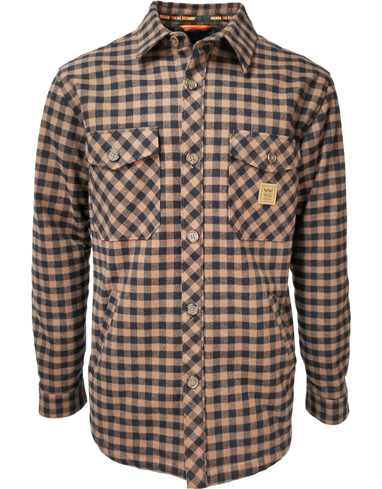 Walls Mens Weldon Vintage Plaid Bonded Jac Shirt