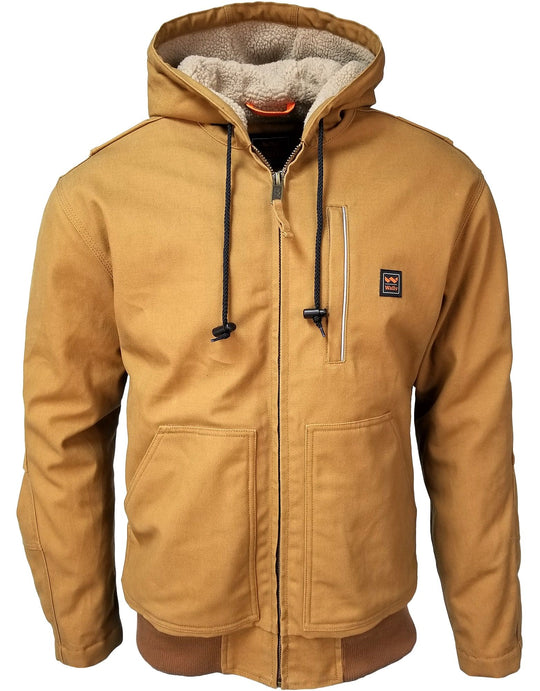 Walls Mens Mingus Hooded Bomber Jacket