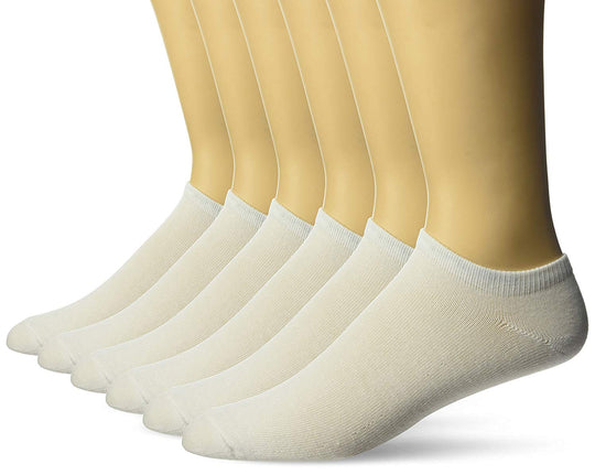 Fruit of the Loom Mens No Show Socks 6 Pairs