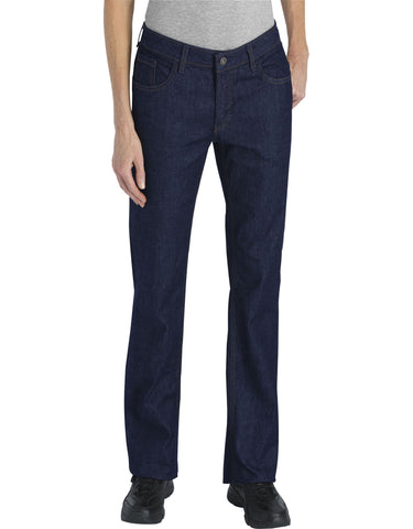 Dickies Womens Industrial Relaxed Fit Denim Jeans