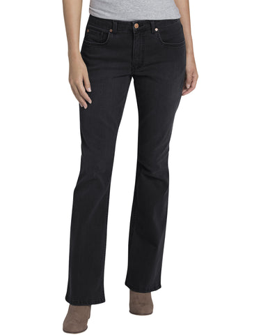 Dickies Womens Perfect Shape Bootcut Stretch Denim Jean