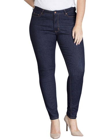 Dickies Womens Plus Size Perfect Shape Skinny Stretch Denim Jean