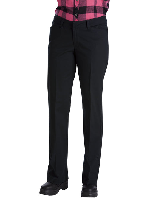Dickies Womens Relaxed Straight Stretch Twill Pants