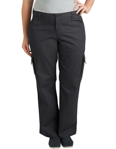 Dickies Womens Plus Size Relaxed Cargo Pants