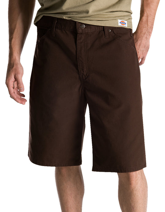 "Dickies Mens 11"" Relaxed Fit Ripstop Carpenter Shorts"
