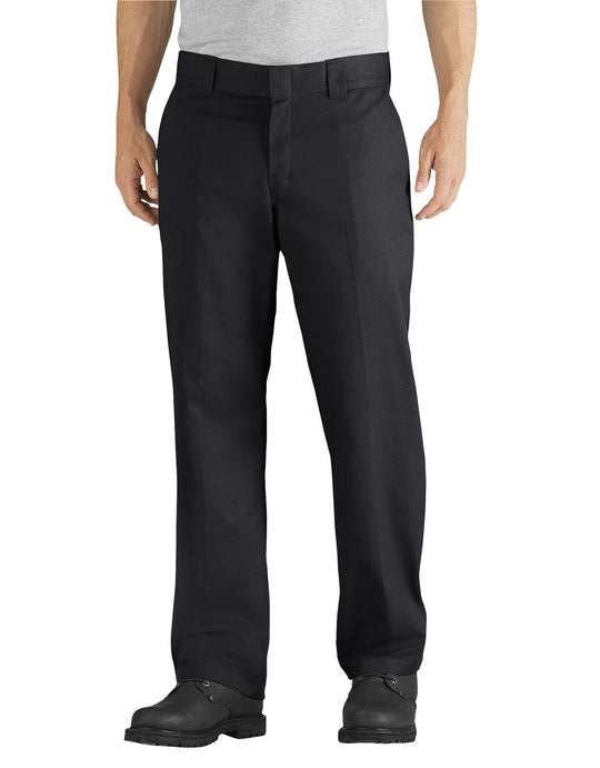 Dickies Mens FLEX Relaxed Fit Straight Leg Twill Work Pants