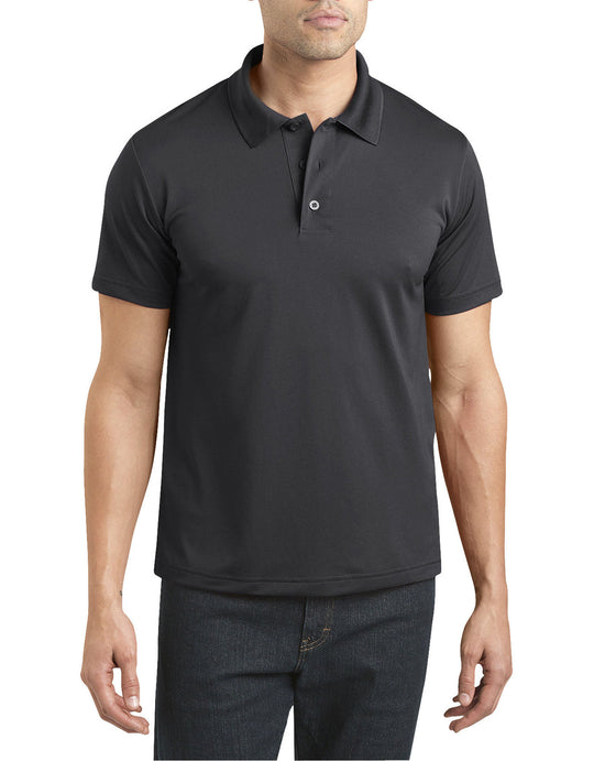 Dickies Mens Performance Short Sleeve Polo Shirt
