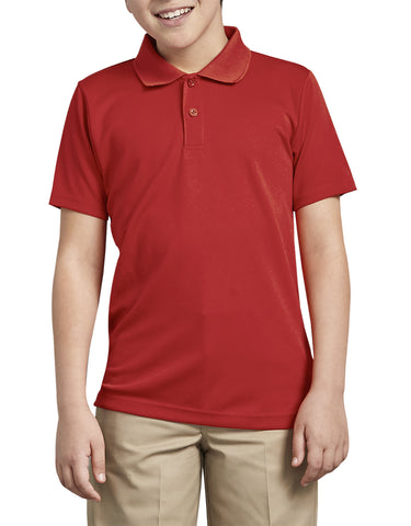 Dickies Boys Adult Size Performance Polo Shirt