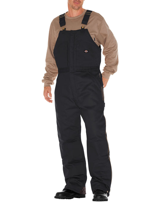 Dickies Mens Duck Insulated Bib Overalls