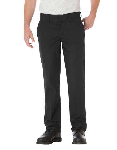 Dickies Mens Slim Straight Fit Poplin Work Pants