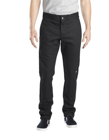 Dickies Mens FLEX Skinny Straight Fit Double Knee Work Pants