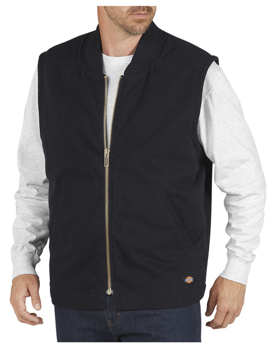 Dickies Mens Sanded Duck Insulated Vest